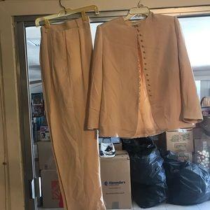 2pc Pink Suit set by Jones NY